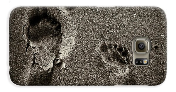 Galaxy S6 Case featuring the photograph Sand Feet by Lora Lee Chapman