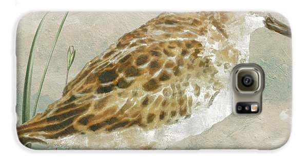 Sandpiper I Galaxy S6 Case by Mindy Sommers