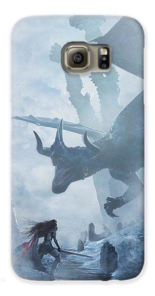 Dragon Galaxy S6 Case - Santa Georgina Vs The Dragon by Guillem H Pongiluppi