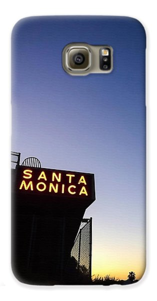 Santa Monica Sunrise Galaxy S6 Case