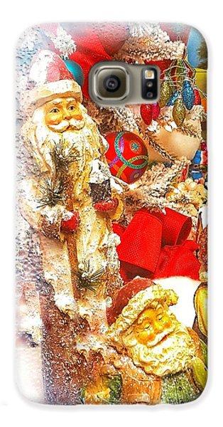 Santa Scene 1 Galaxy S6 Case