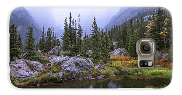 Landscapes Galaxy S6 Case - Saturated Forest by Chad Dutson
