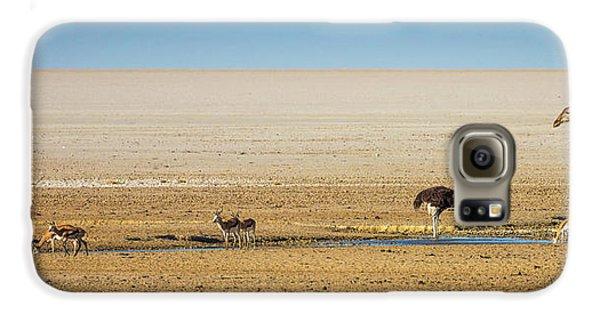 Savanna Life Galaxy S6 Case by Inge Johnsson