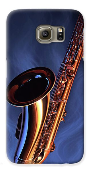 Saxophone Galaxy S6 Case - Sax Appeal by Jerry LoFaro