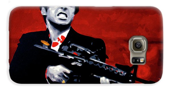 Say Hello To My Little Friend  Galaxy S6 Case