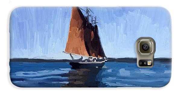 Schooner Roseway In Gloucester Harbor Galaxy S6 Case
