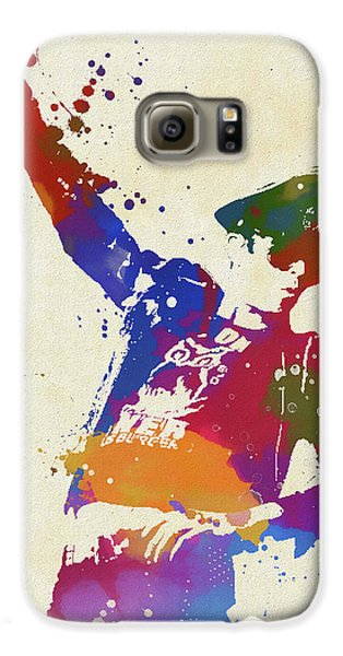 Stone Temple Pilots Galaxy S6 Case - Scott Weiland Paint Splash by Dan Sproul