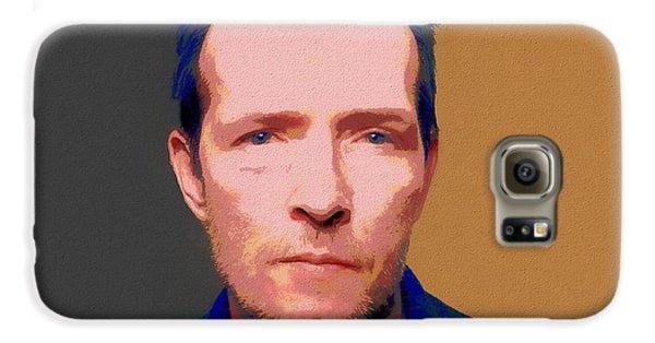 Stone Temple Pilots Galaxy S6 Case - Scott Weiland Pop Art by Dan Sproul