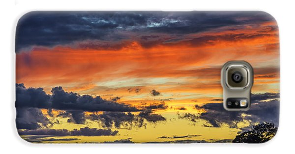 Galaxy S6 Case featuring the photograph Scottish Sunset by Jeremy Lavender Photography