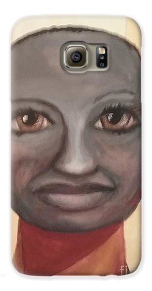 Galaxy S6 Case featuring the painting Screw You Cancer by Saundra Johnson