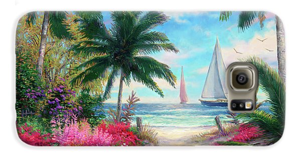 Jazz Galaxy S6 Case - Sea Breeze Trail by Chuck Pinson