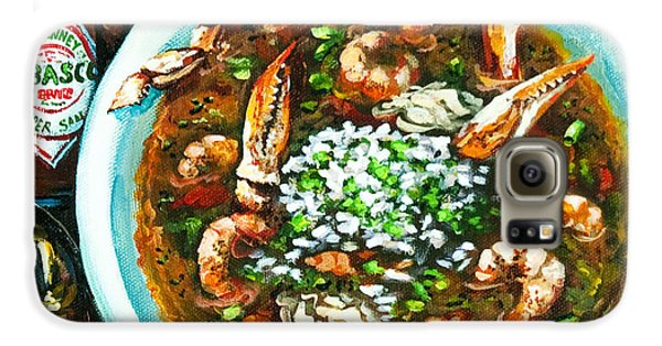 Food And Beverage Galaxy S6 Case - Seafood Gumbo by Dianne Parks