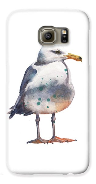 Seagull Print Galaxy S6 Case by Alison Fennell