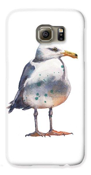 Seagull Print Galaxy S6 Case