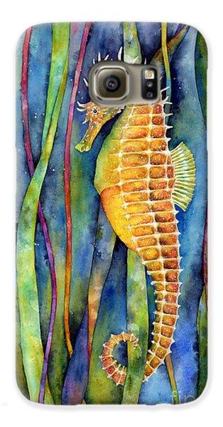Seahorse Galaxy S6 Case - Seahorse by Hailey E Herrera