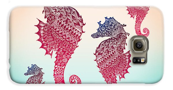 Seahorse Galaxy S6 Case by Mark Ashkenazi