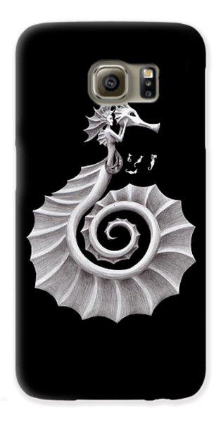 Seahorse Siren Galaxy S6 Case by Sarah Krafft