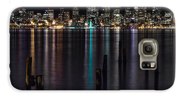 Seattle At Night Galaxy S6 Case