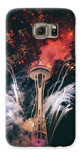 Seattle Galaxy S6 Case by Happy Home Artistry