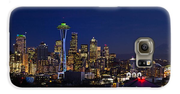 Seattle Seahawks Space Needle Galaxy S6 Case