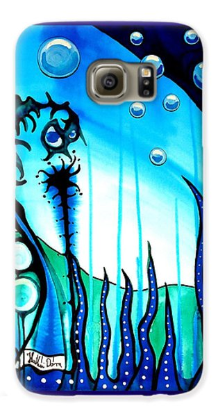 Seaweed - Art By Dora Hathazi Mendes Galaxy S6 Case by Dora Hathazi Mendes