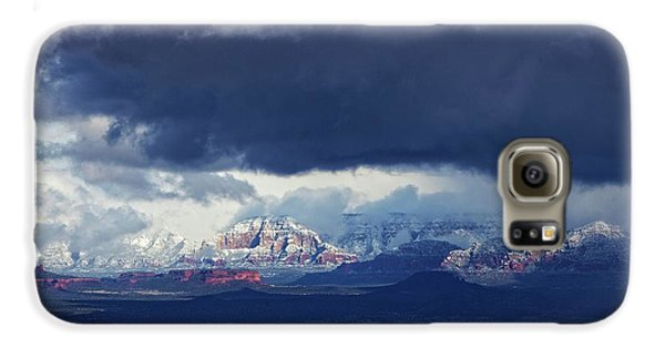 Sedona Area Third Winter Storm Galaxy S6 Case