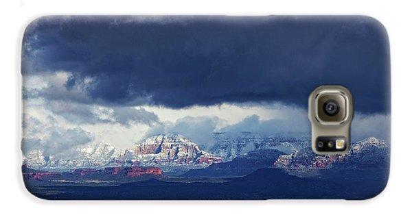 Sedona Area Third Winter Storm Galaxy S6 Case