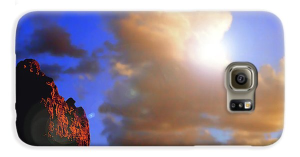Sedona Mountain Cloud Sun Galaxy S6 Case