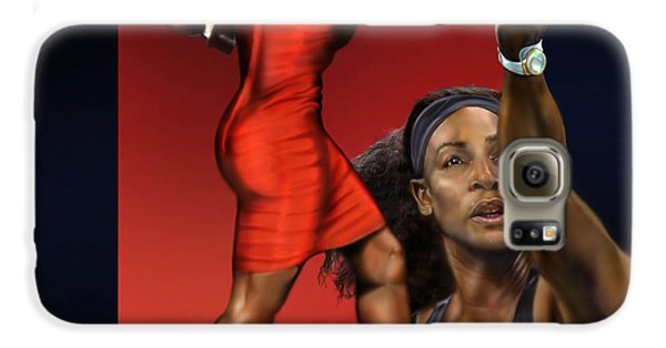Sensuality Under Extreme Power - Serena The Shape Of Things To Come Galaxy S6 Case by Reggie Duffie