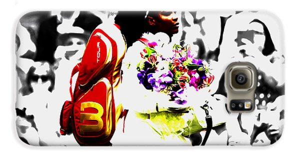 Venus Williams Galaxy S6 Case - Serena Williams 2f by Brian Reaves