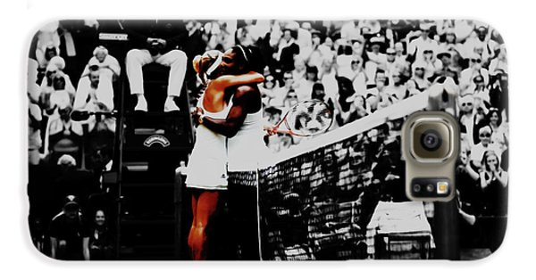 Venus Williams Galaxy S6 Case - Serena Williams And Angelique Kerber by Brian Reaves