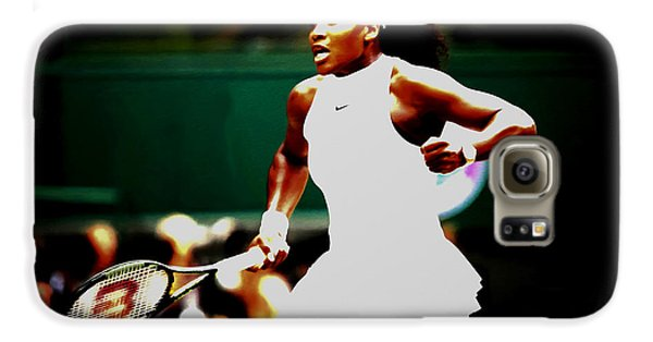 Venus Williams Galaxy S6 Case - Serena Williams Making History by Brian Reaves