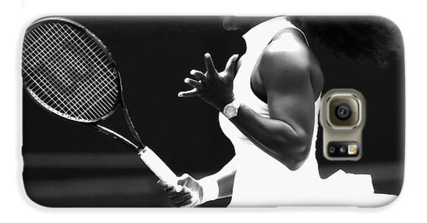 Venus Williams Galaxy S6 Case - Serena Williams Making Magic Happen by Brian Reaves