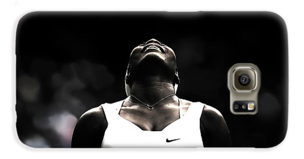 Serena Williams Quote 2a Galaxy S6 Case by Brian Reaves