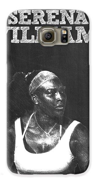 Serena Williams Galaxy S6 Case by Semih Yurdabak