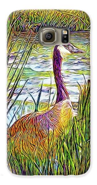 Serene Goose Dreams Galaxy S6 Case