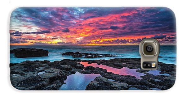 Landscapes Galaxy S6 Case - Serene Sunset by Robert Bynum