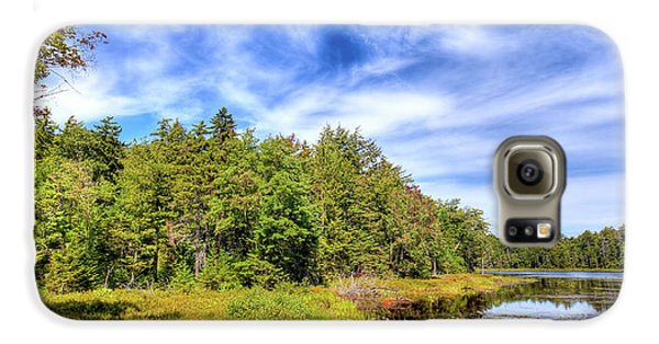 Galaxy S6 Case featuring the photograph Serenity On Bald Mountain Pond by David Patterson