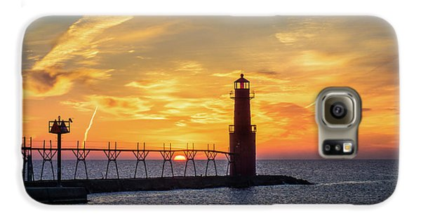 Galaxy S6 Case featuring the photograph Serious Sunrise by Bill Pevlor