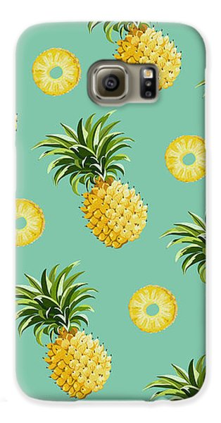Set Of Pineapples Galaxy S6 Case by Vitor Costa