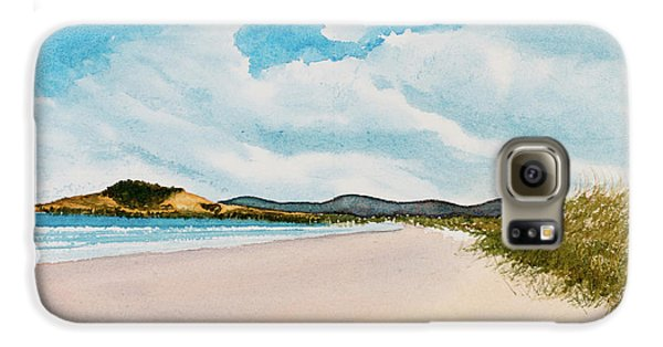 Seven Mile Beach On A Calm, Sunny Day Galaxy S6 Case
