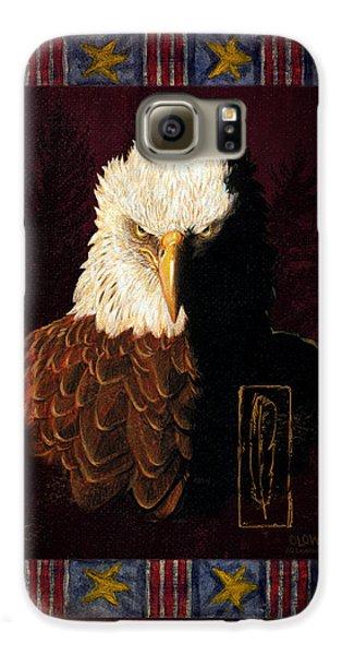 Eagle Galaxy S6 Case - Shadow Eagle by JQ Licensing
