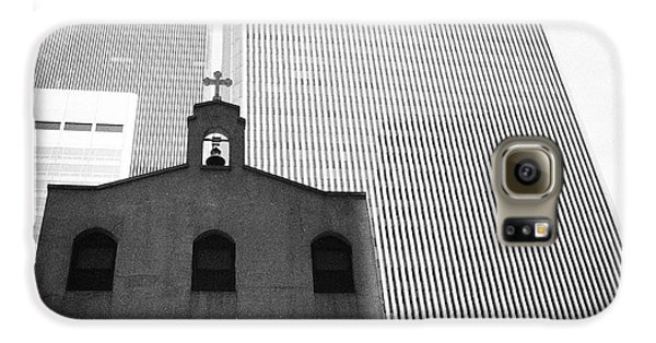 Shadow Of World Trade Center Galaxy S6 Case
