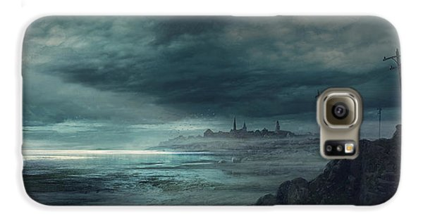 Boston Galaxy S6 Case - Shadow Over Innsmouth by Guillem H Pongiluppi