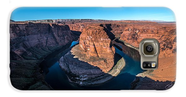 Shadows Of Horseshoe Bend Page, Arizona Galaxy S6 Case