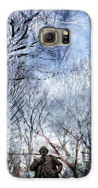 Shakespeare In The Park Collage Galaxy S6 Case