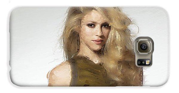 Shakira Galaxy S6 Case by Iguanna Espinosa
