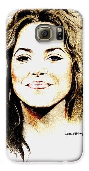 Shakira Galaxy S6 Case by Lin Petershagen