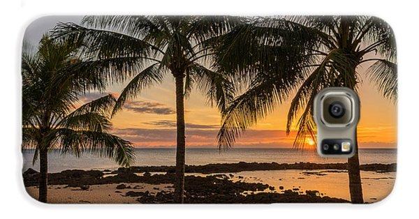 Sharks Cove Sunset 4 - Oahu Hawaii Galaxy S6 Case