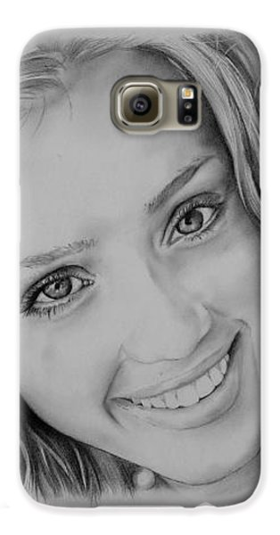 She Smiles Galaxy S6 Case by Jessica Perkins
